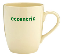 "Big Tomato Co ""eccentric"" mug"